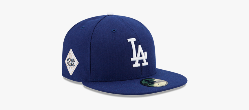 Los Angeles Dodgers World Series 59fifty Patch Fitted - La Dodgers Cap World Series, HD Png Download, Free Download