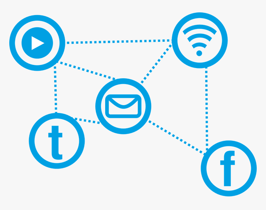 Social, Social Media, Message, Icons, Www, Icon - Social Network Vector Png, Transparent Png, Free Download