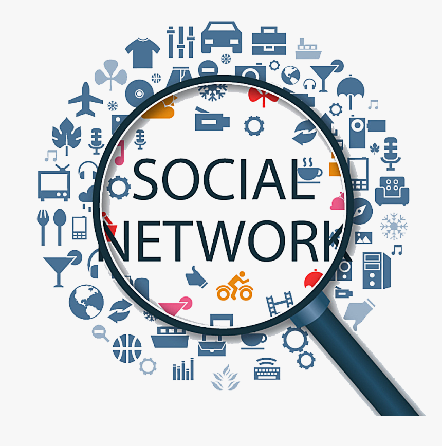 Social Media Social Networking Service Icon - Web Based Social Networks, HD Png Download, Free Download