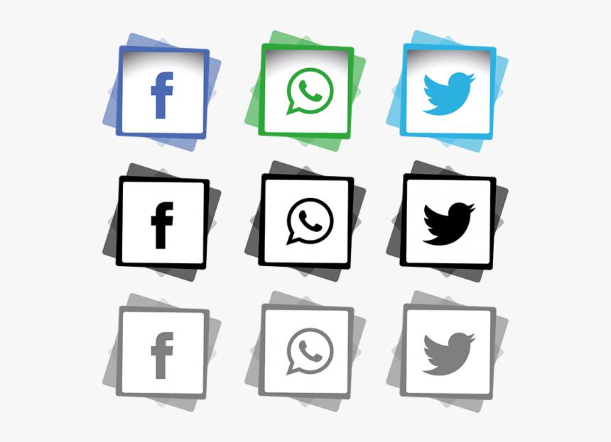 Transparent Vector Line Png - Logo Media Sosial Png, Png Download, Free Download