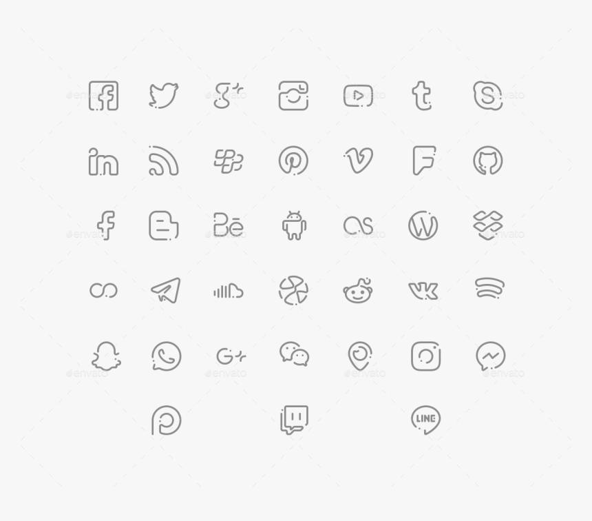 Graphic Free Download Bar Vector Social Media - Icon, HD Png Download, Free Download