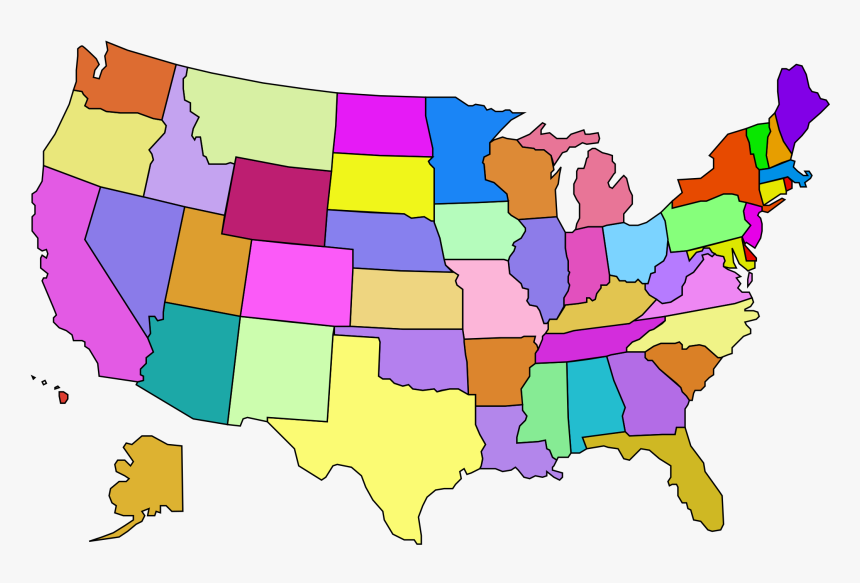 Usa Map Png - United States Map Clip Art, Transparent Png ...