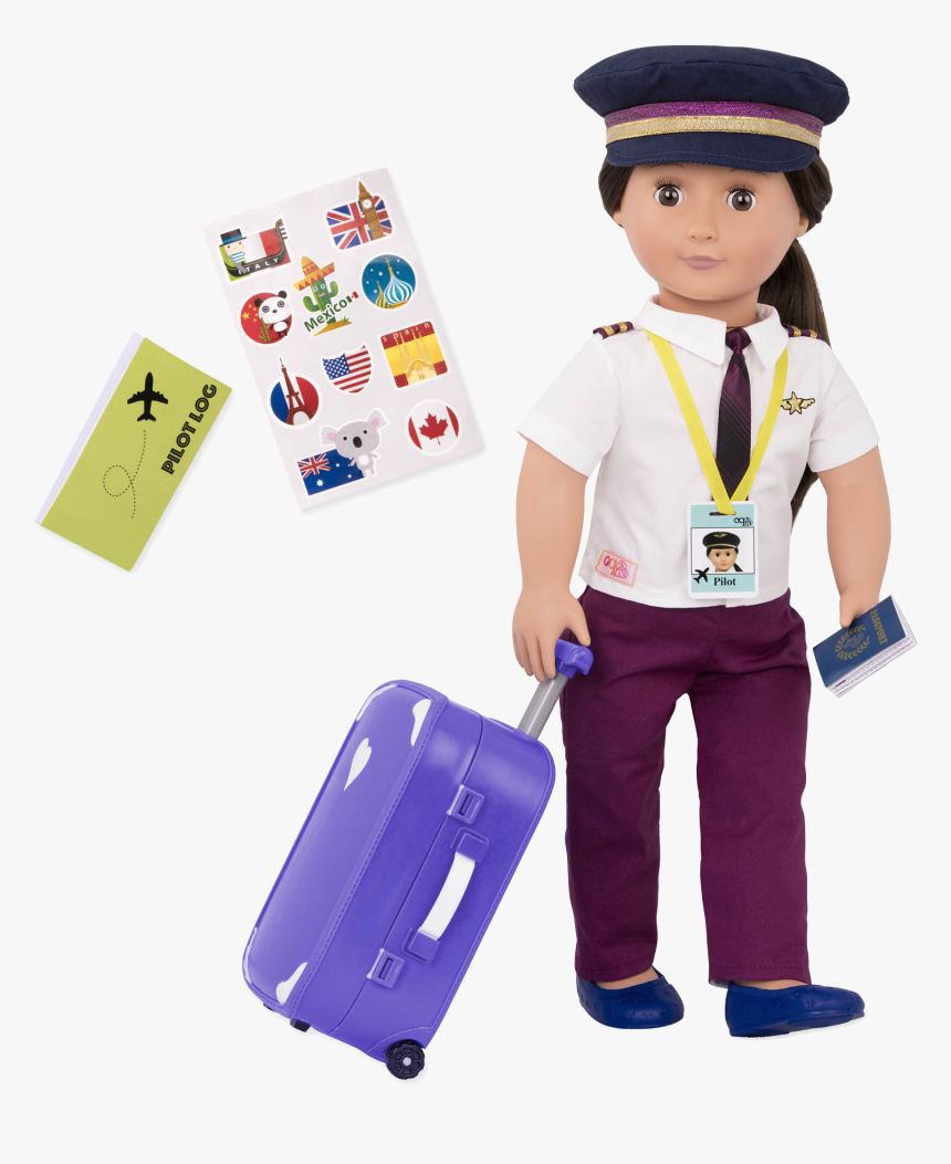 Kaihily 18-inch Pilot Doll - Our Generation Pilot Doll, HD Png Download, Free Download