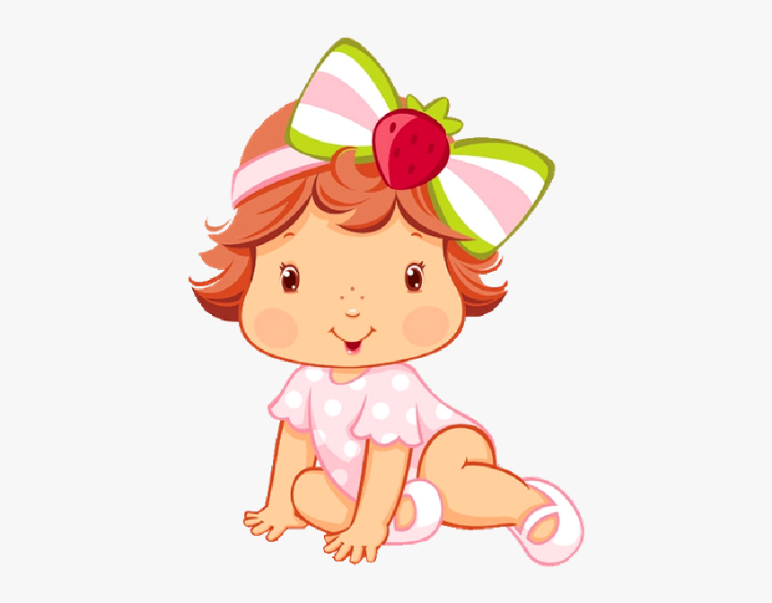 Strawberry Shortcake Baby Images Strawberry Shortcake - Baby Strawberry Shortcake Cartoon, HD Png Download, Free Download
