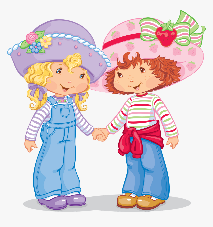 Strawberry Shortcake Cartoon Hd Png Download Kindpng