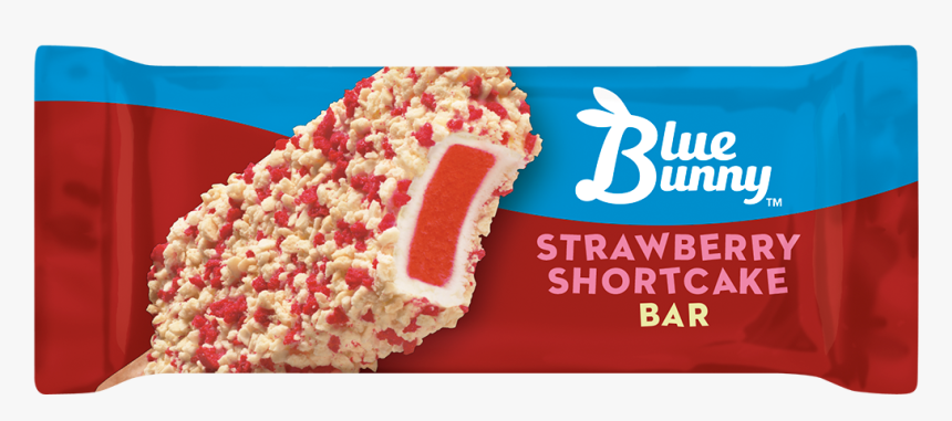 Strawberry Shortcake Bar - Strawberry Shortcake Ice Cream Blue Bunny, HD Png Download, Free Download