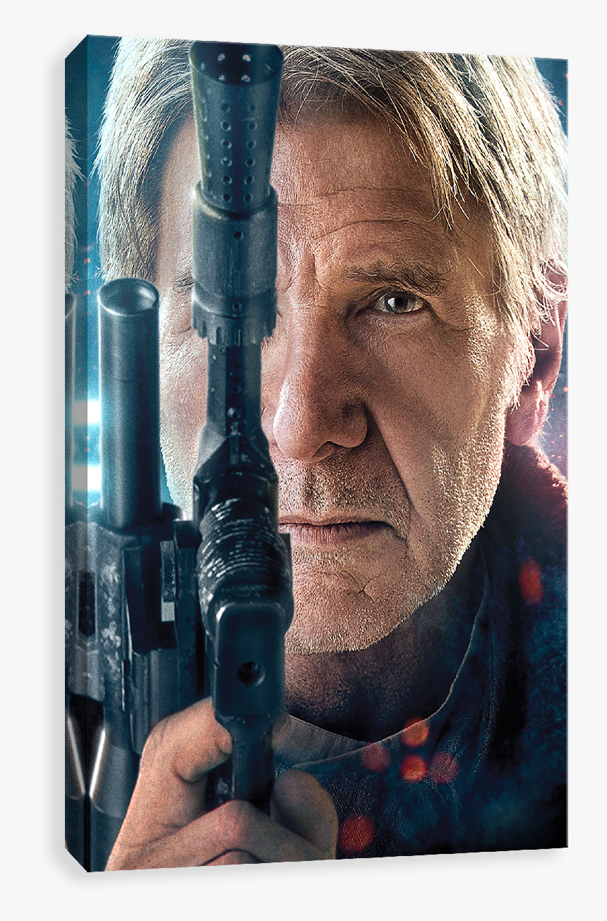 The Force Awakens - Han Solo Poster The Force Awakens, HD Png Download, Free Download