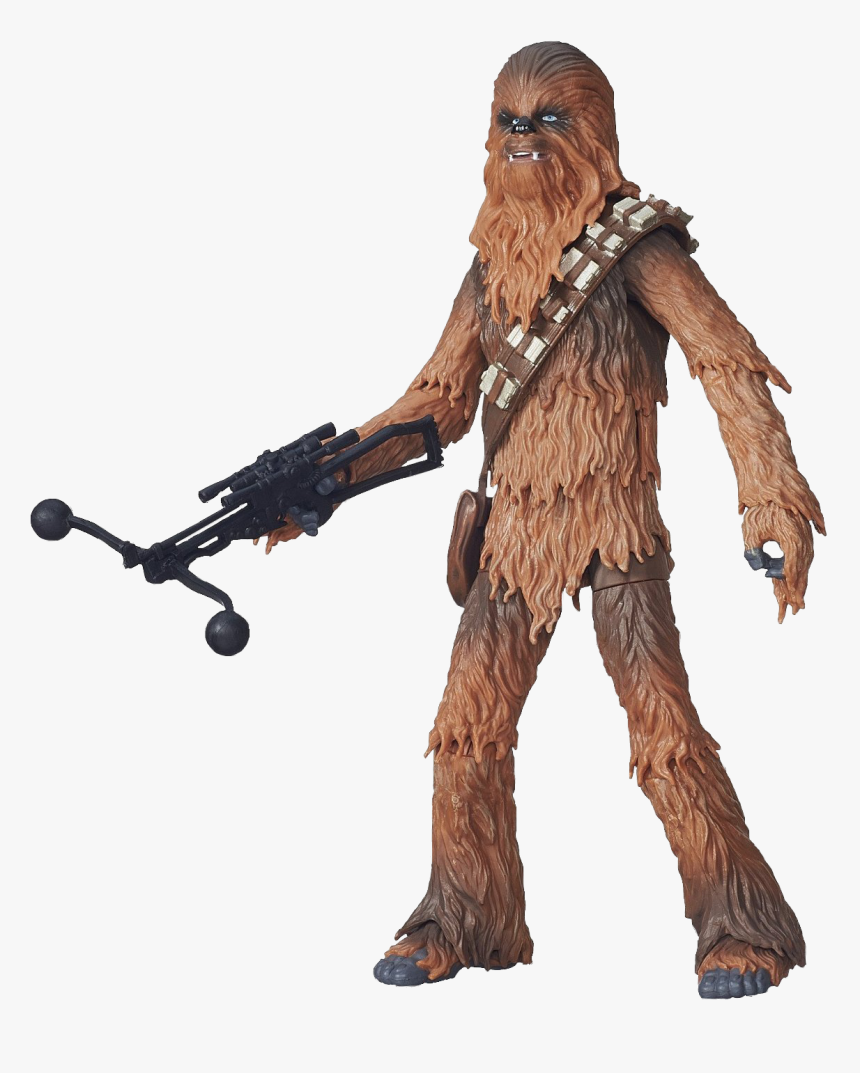 Star Wars The Force Awakens Chewbacca Action Figure - Star Wars Chewbacca Black Series The Force Awakens, HD Png Download, Free Download