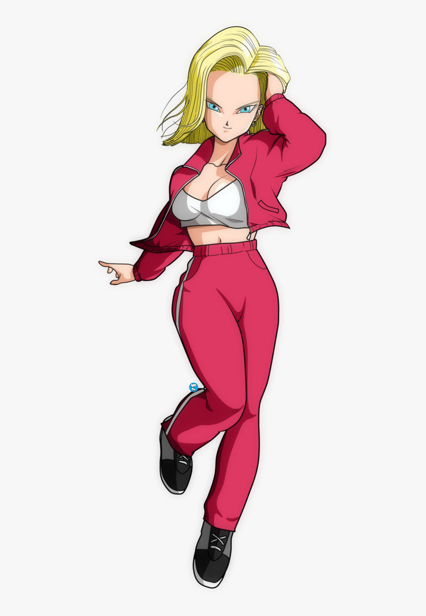 Android 18 In T - Android 18 Render, HD Png Download, Free Download