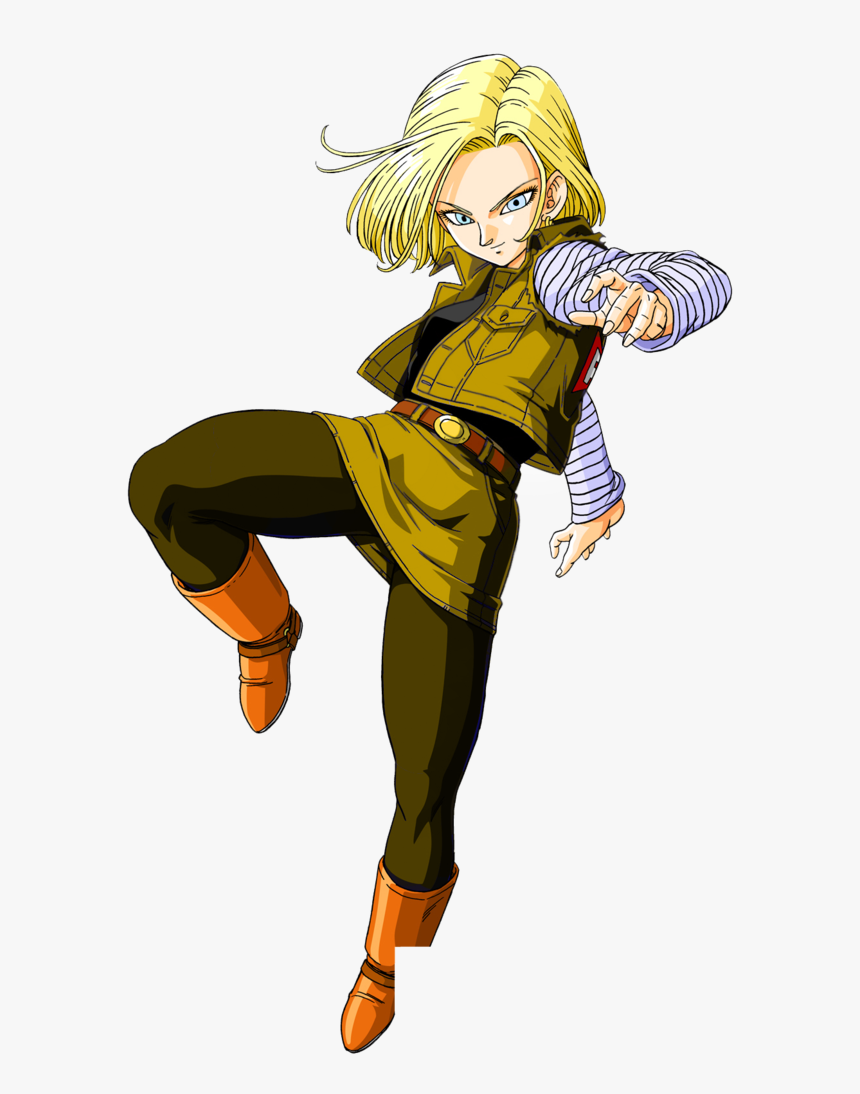 C 18 Dragon Ball , Png Download - Android 18 Red Ribbon Army, Transparent Png, Free Download