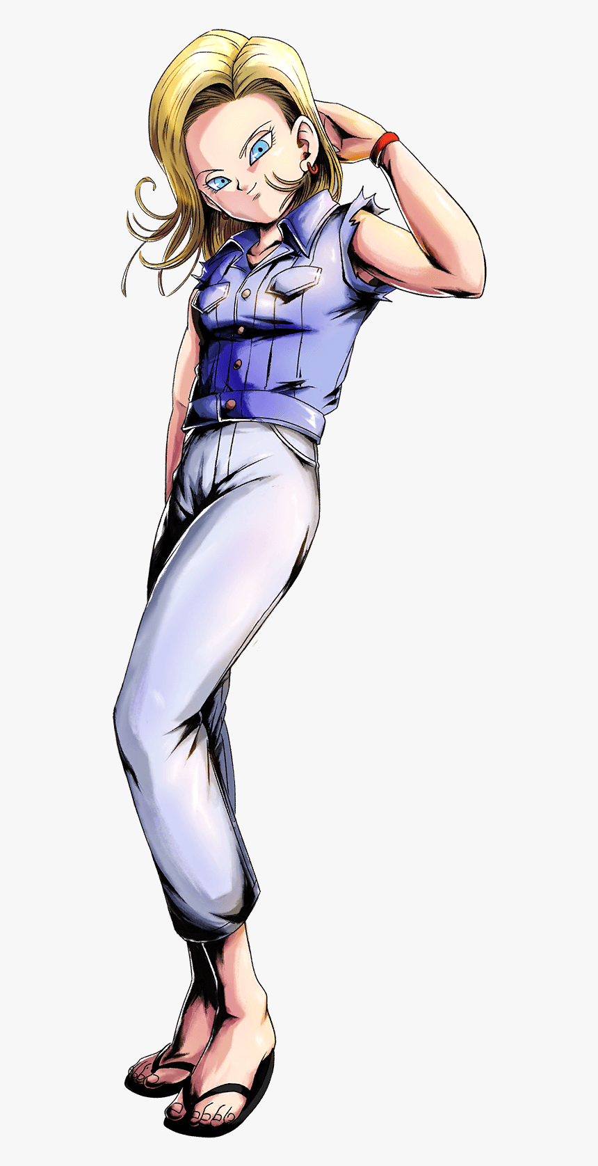 Dragon Ball Legends Android 18, HD Png Download, Free Download