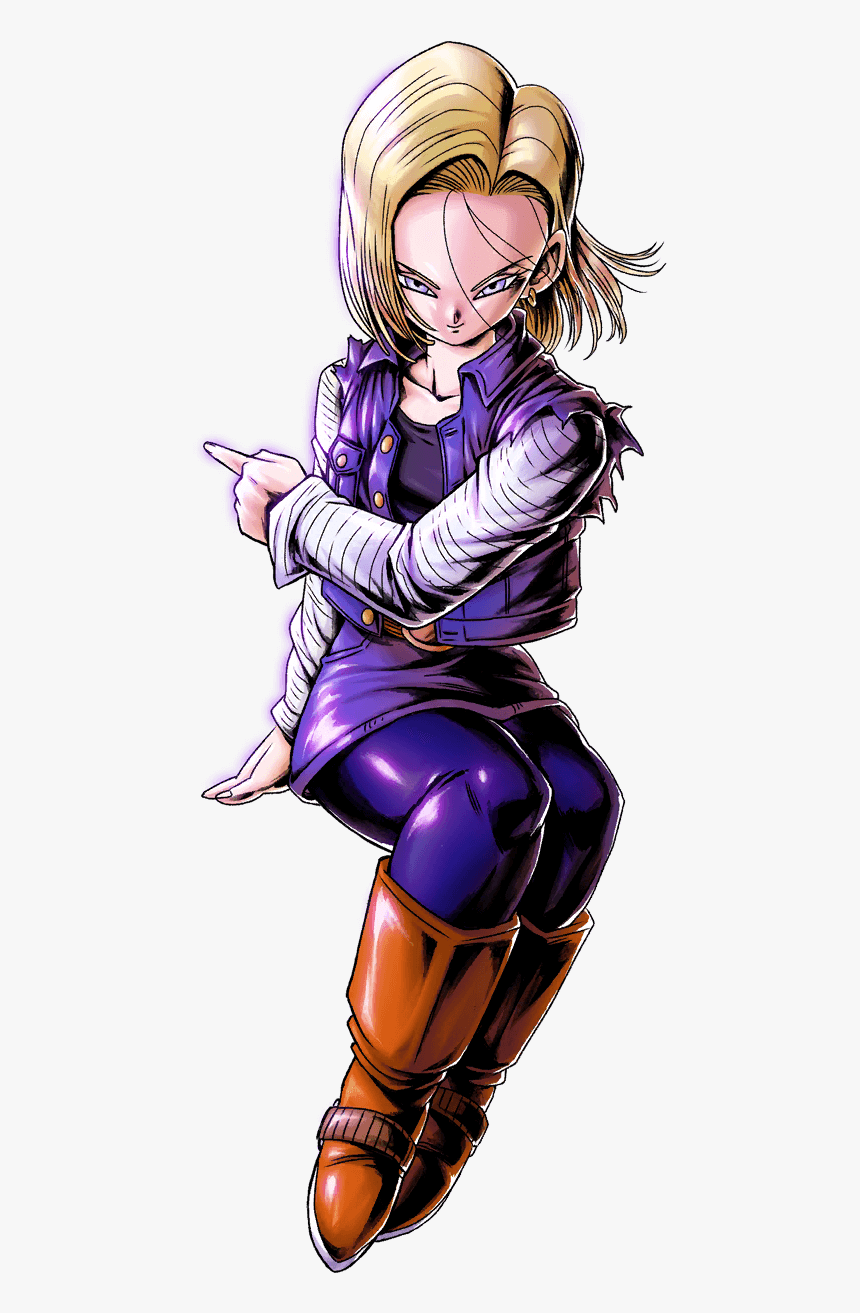 Android 18 Dragon Ball Legends, HD Png Download, Free Download