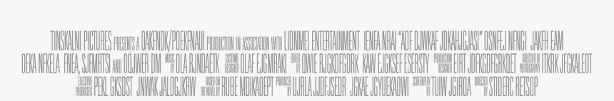 Movie Credits Png - Movie Poster Credits Transparent, Png Download, Free Download