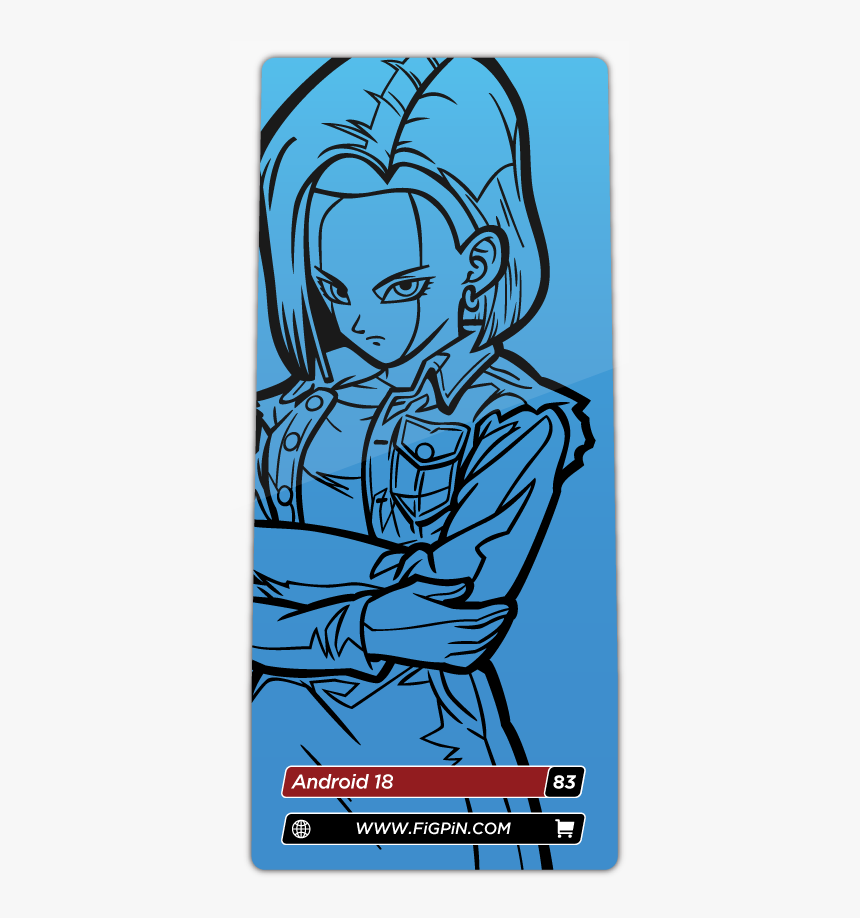 Android 17 18 Dragon Ball Fighterz Transparent, HD Png Download, Free Download