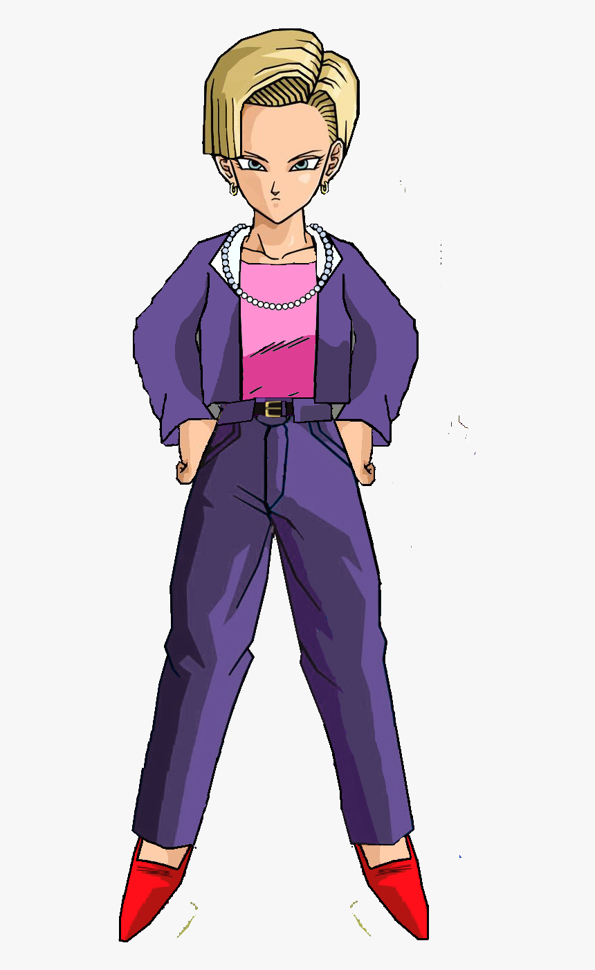 Android 18 Gt - Dragon Ball Gt Androide 18, HD Png Download, Free Download