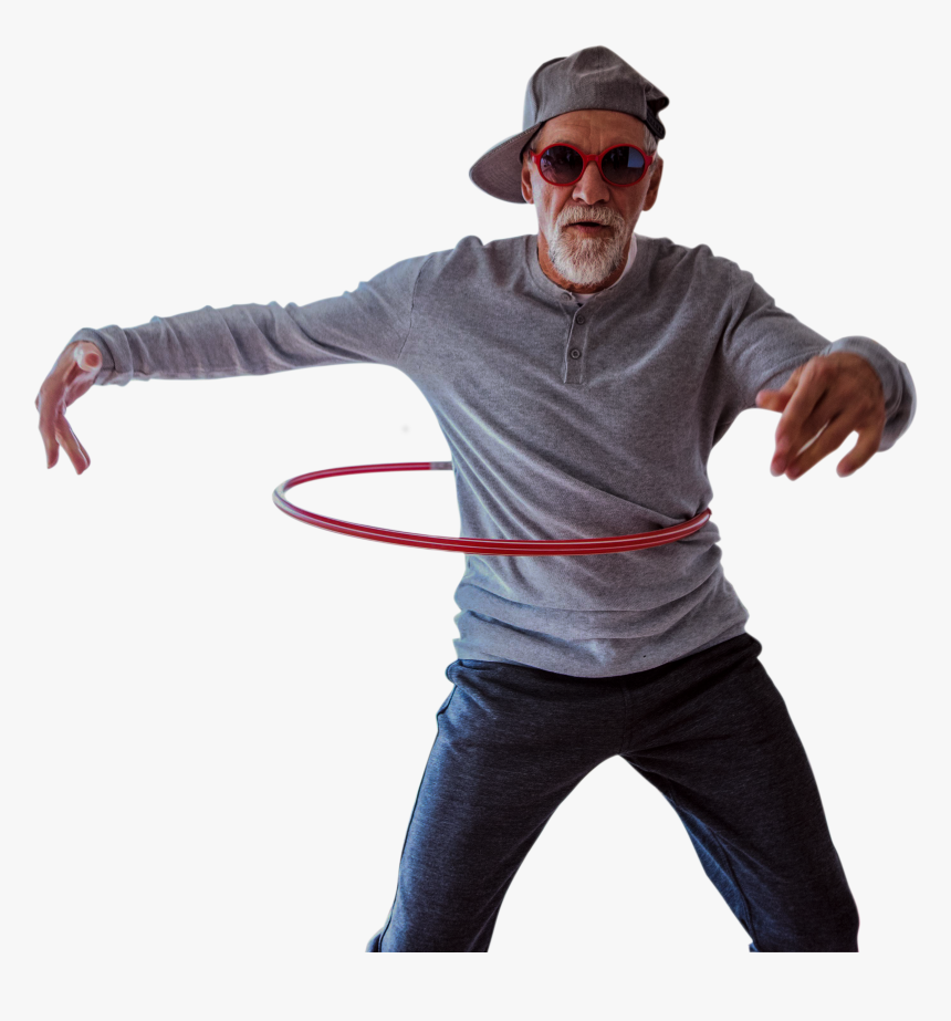Person Using Hula Hoop, HD Png Download, Free Download