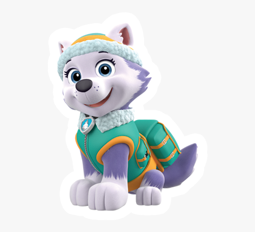 Cheap Paw Patrol Everest Png Stickers You Can With - Everest Paw Patrol Characters, Transparent Png, Free Download