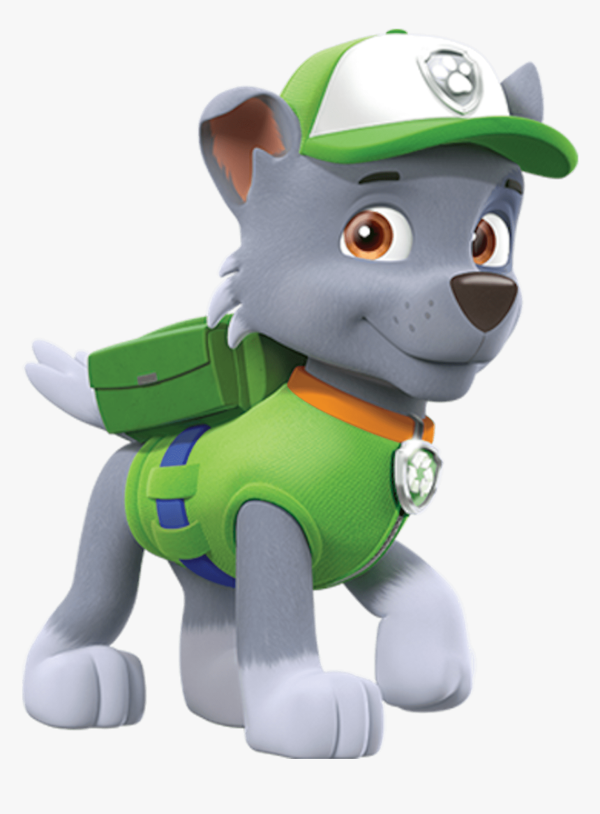 Paw Patrol Zuma Png - Paw Patrol Rocky Clipart, Transparent Png, Free Download