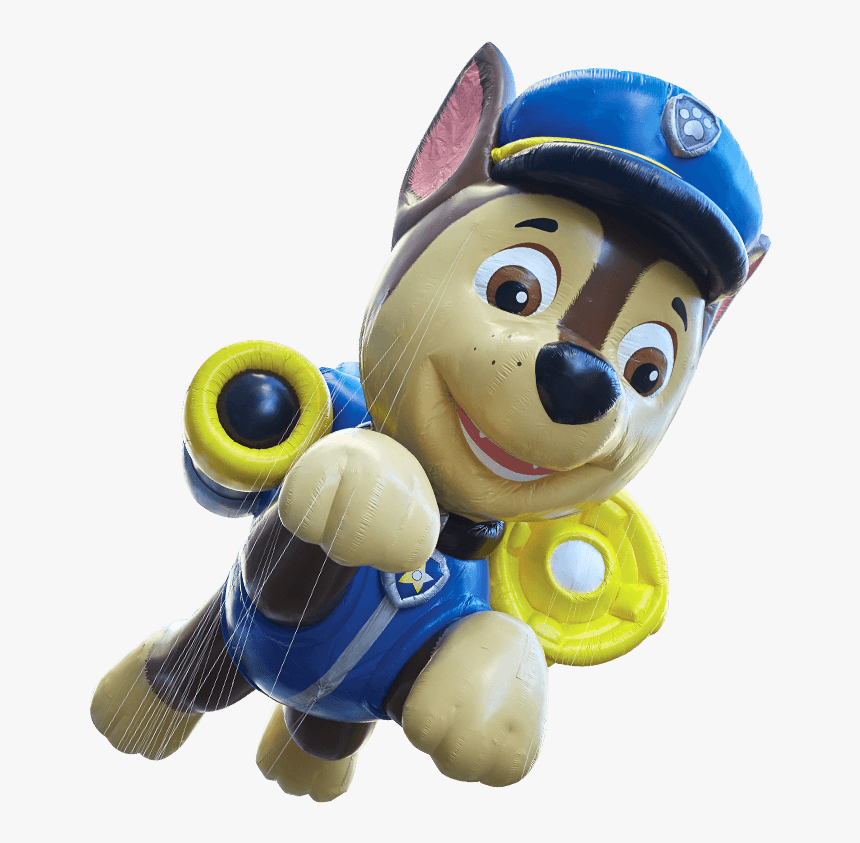 """Chase Paw Patrol Macy""""s Thanksgiving Day Parade - Chase Paw Patrol Balloon, HD Png Download, Free Download"""