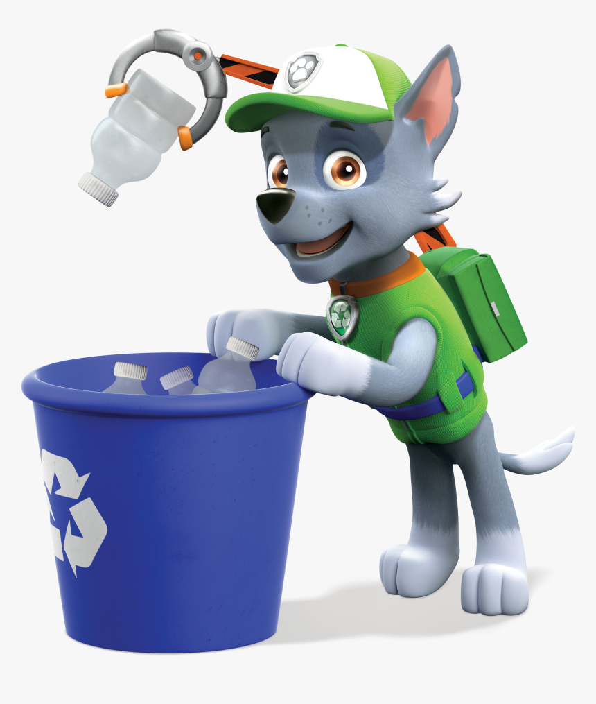 Rocky Paw Patrol Png, Transparent Png, Free Download