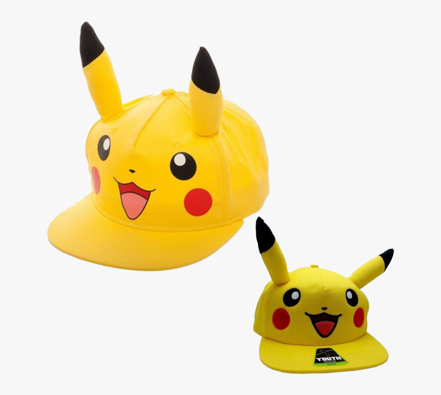 Pikachu Hat Youth - Pikachu, HD Png Download, Free Download