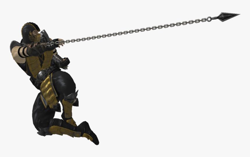 Mortal Kombat Scorpion Png Free Download Scorpion Spear Mortal