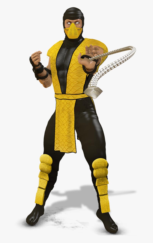 Mortal Kombat Scorpion Png Transparent Png Kindpng