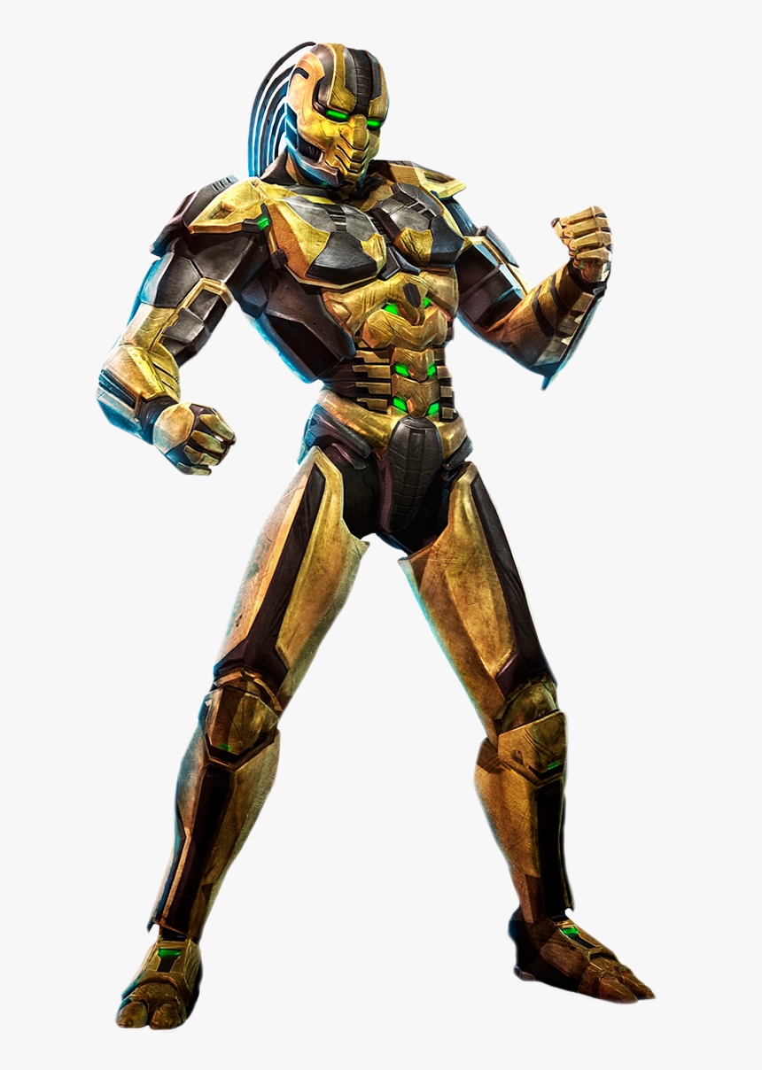 Drawing Scorpion Mortal Kombat Character - Iron Man Mortal Kombat, HD Png Download, Free Download