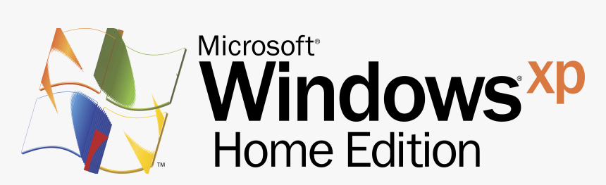 Transparent Windows Xp Png - Windows Xp Home Edition Logo, Png Download, Free Download