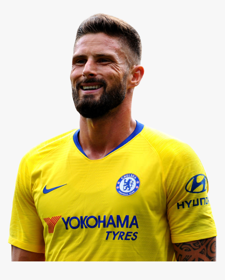 Olivier Giroud Render Chelsea F C Hd Png Download Kindpng