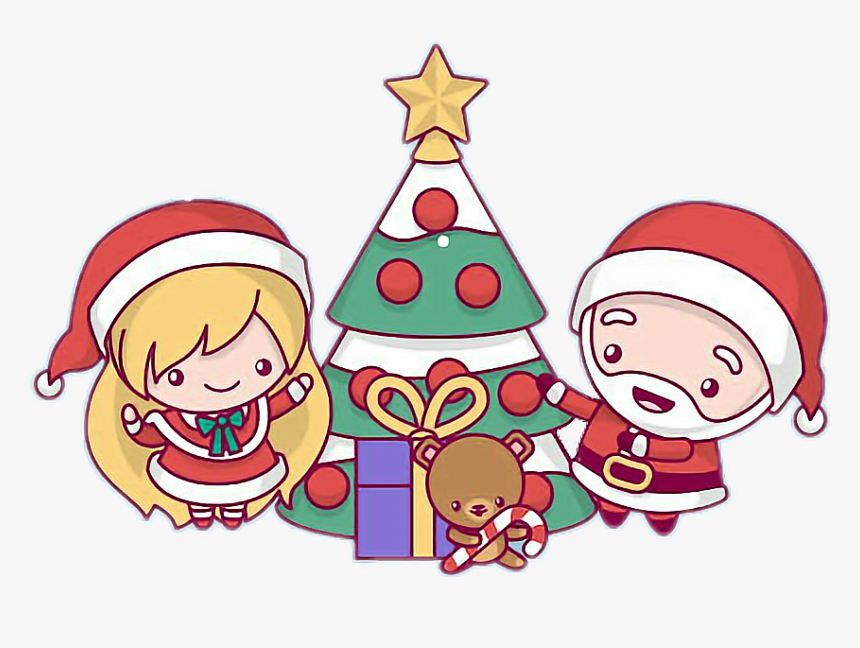 Animated Merry Christmas Cute, HD Png Download, Free Download