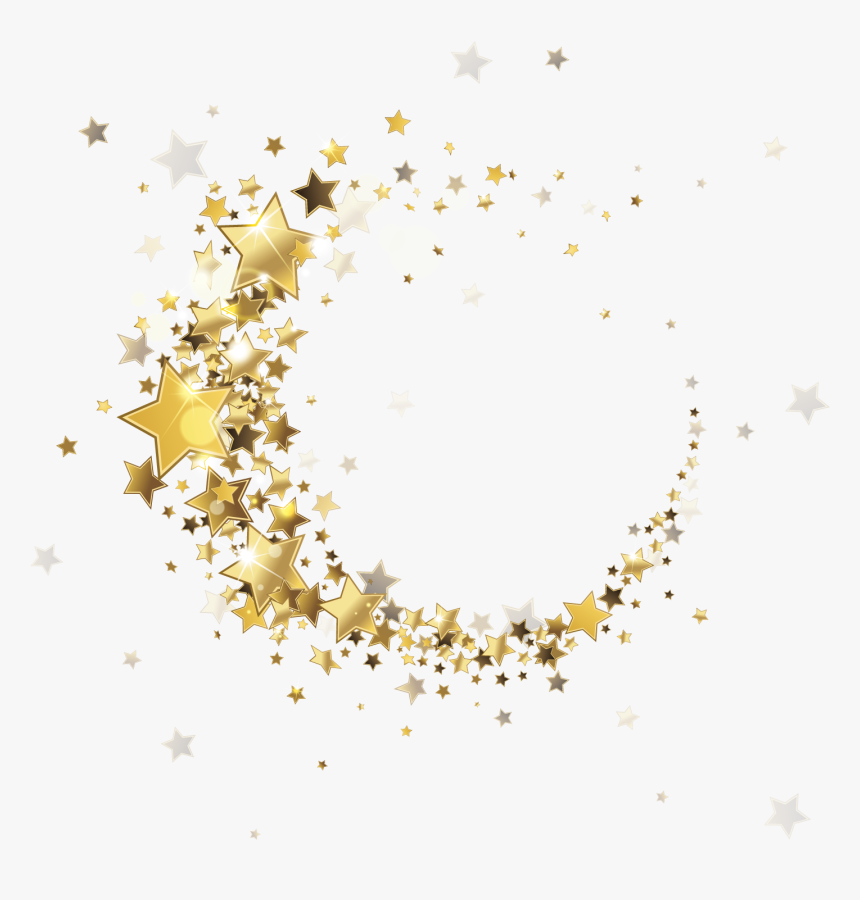 Round Star Spot Border Png Download - Gold Star Border Png, Transparent Png, Free Download