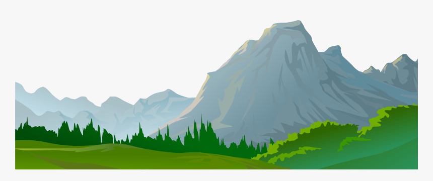 Transparent Rolling Hills Clipart - Transparent Background Mountain Clipart, HD Png Download, Free Download
