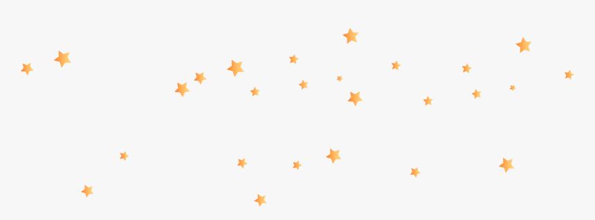 Orange Star Background Png Download - Orange Stars With Clear Background, Transparent Png, Free Download