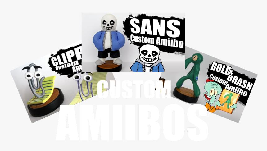 Custom Amiibos - Cartoon, HD Png Download, Free Download