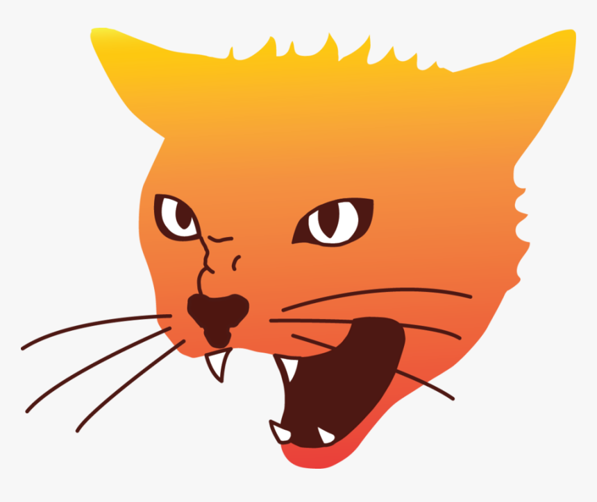 Angry Cat Png Image - Angry Cat Face Png, Transparent Png, Free Download