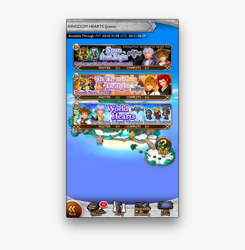 Kingdom Hearts And Final Fantasy Logo, HD Png Download, Free Download