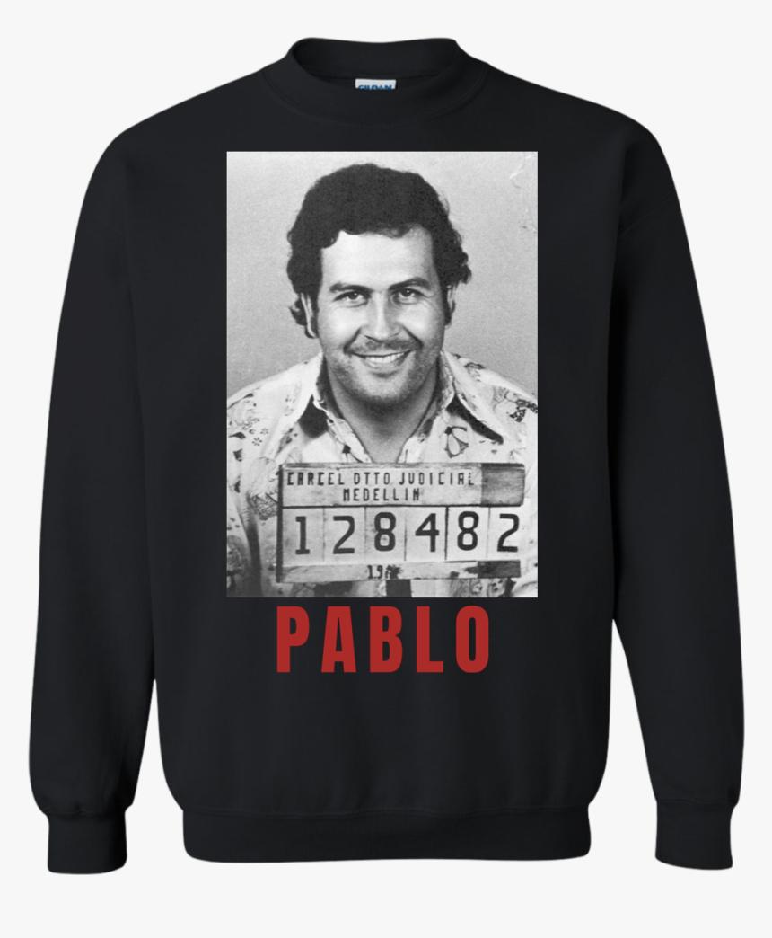 Pablo Escobar Mugshot Crewneck Pullover Sweatshirt - Pablo Escobar Iphone, HD Png Download, Free Download