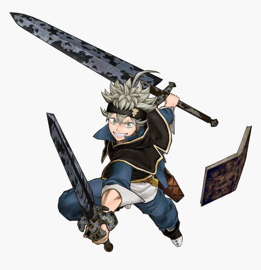 Playstation Video Game Character - Black Clover Anime Png, Transparent Png, Free Download
