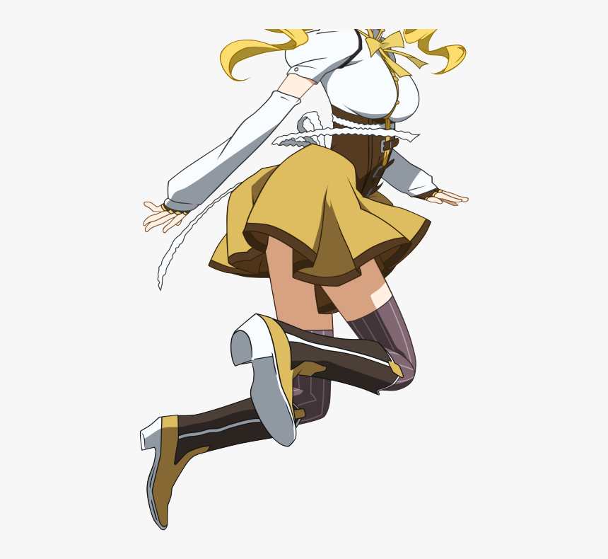 Transparent Mami Tomoe Png Madoka Magica Mami Head Meme Png Download Kindpng