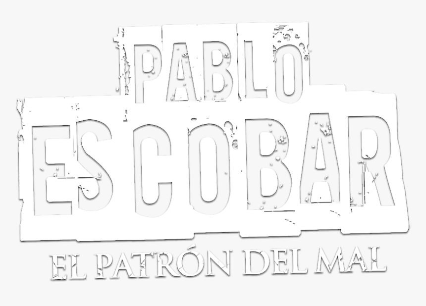 Pablo Escobar, El Patrón Del Mal - Pablo Escobar Name Png, Transparent Png, Free Download