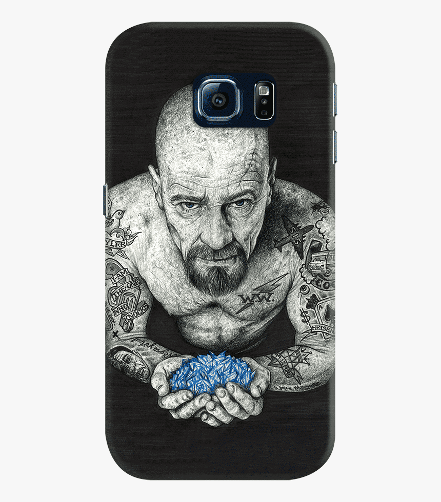 Dailyobjects Heisenberg Inked Case For Samsung Galaxy - Heisenberg Breaking Bad Tattoo, HD Png Download, Free Download