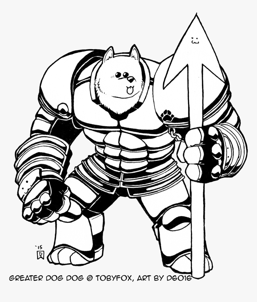 Undertale Greater Dog Png Undertale Coloring Pages Transparent