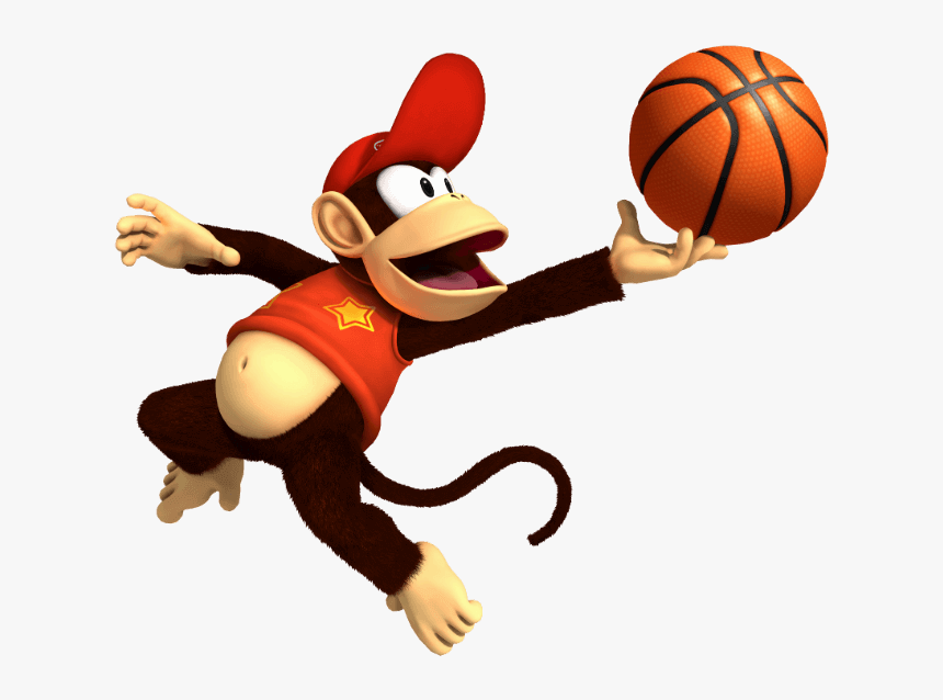 Diddy Kong - Mario Super Sluggers Diddy, HD Png Download, Free Download