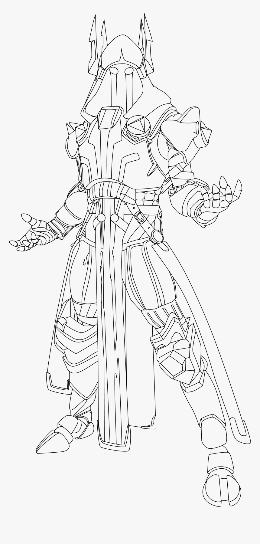 - Ice King Coloring Pages Fortnite, HD Png Download - Kindpng