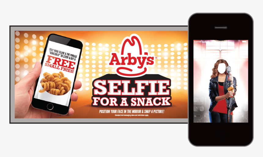 """Arby""""s Bok Center Interactive Ad Campaign - Bánh, HD Png Download, Free Download"""