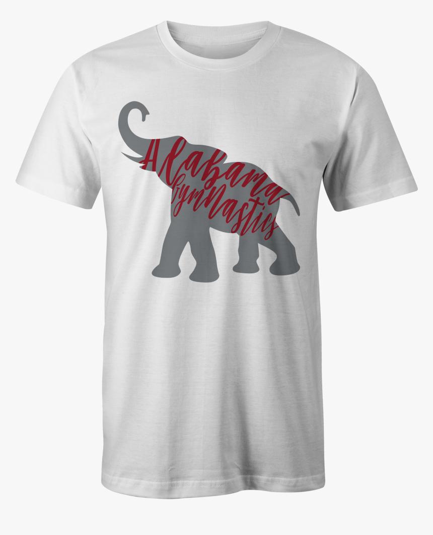 Bama Gymnastics Lettered Elephant Tee - Alabama Gymnastics Shirt, HD Png Download, Free Download