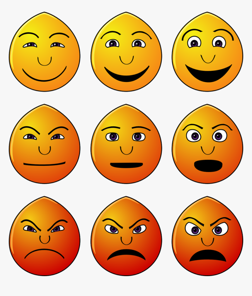 Emoticons, Emotions, Smilies, Faces, Yellow, Happy - Understanding Emotion, HD Png Download, Free Download