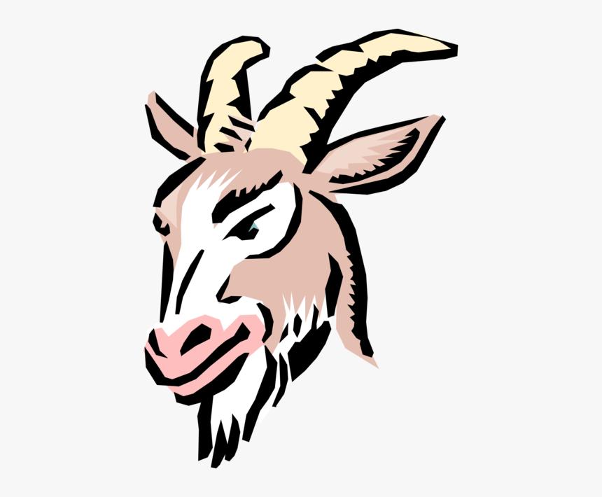 Goats Head Clip Cartoon Goats Hd Png Download Kindpng