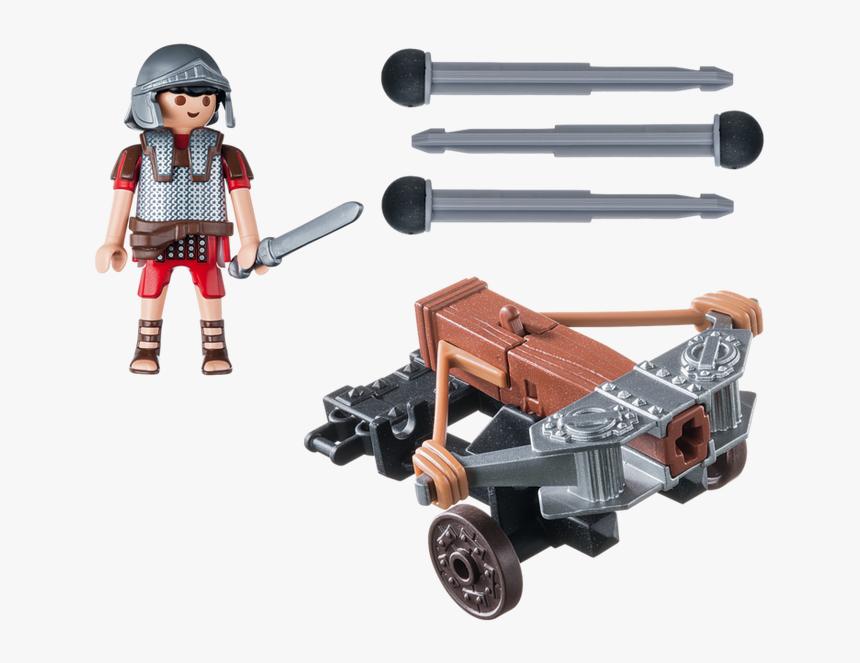 1 Of 4 Playmobil 5392 Legionary Ballista Roman Soldier - Playmobil 5392, HD Png Download, Free Download